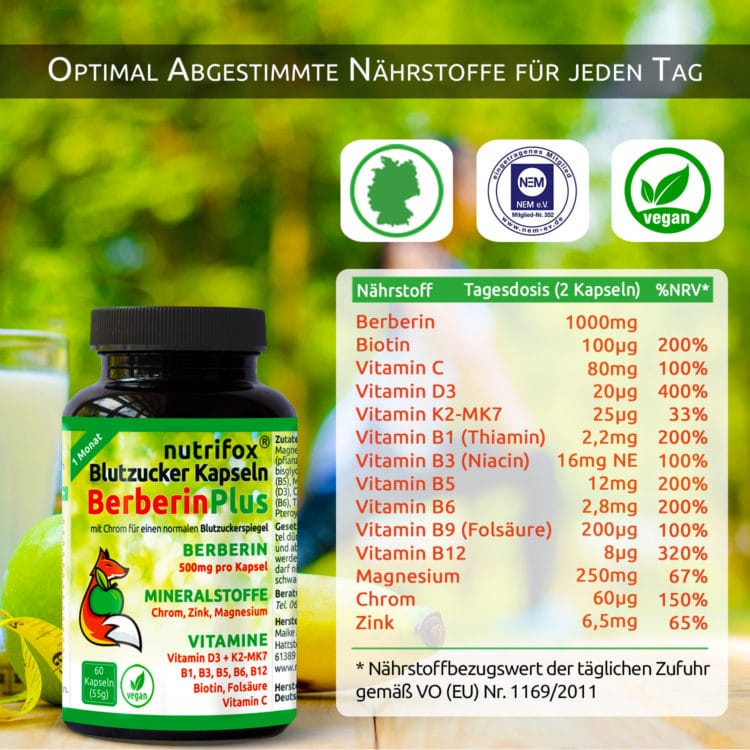 Berberin 500 mg