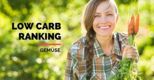 Low Carb Liste für Gemüse