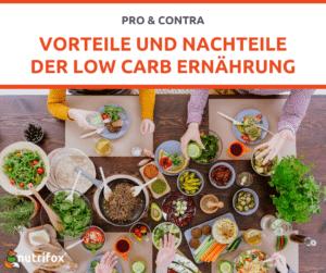 Low Carb Vorteile Nachteile