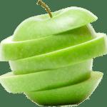 Apfel in Stücken - Dieses Obst enthält mehr Kohlenhydrate als man denkt