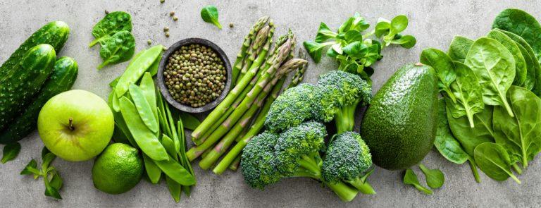 grünes Low Carb Gemüse