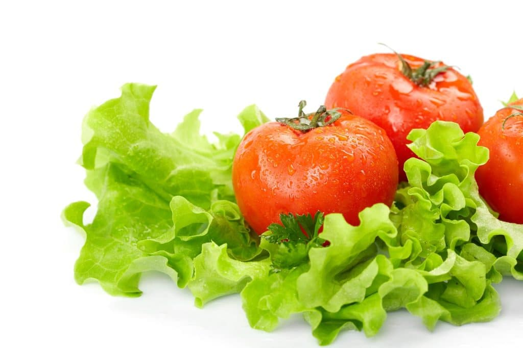 food Tomatoes lettuse